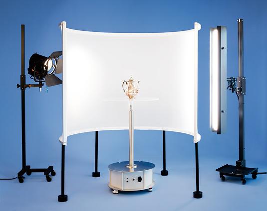 3D Panel für Produktfotografie