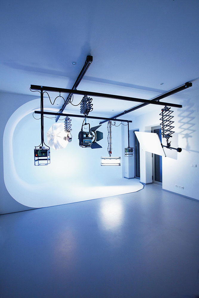 Studioequipment Compact Ceiling Track System